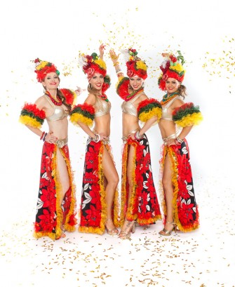 Tancerki samby 100% Samba Show Warszawa