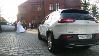 JEEP CHEROKEE 2015 - Biały, Wersja LIMITED!!- auto do ślubu Iława