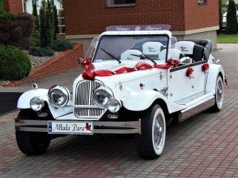 RETRO zabytkowy kabriolet Spider Nestor Baron do ślubu Auto na wesele Ciechanów