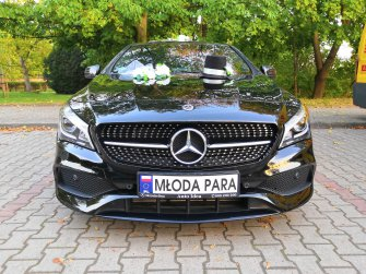 Auto Do Ślubu Nowy Mercedes CLA 200 AMG 2018r. Wrocław i okolice