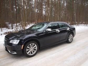 Auto do Ślubu Chrysler 300c Nowy Tomyśl