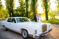 Wynajem zabytkowego Lincolna i  Chryslera Cabrio Toruń