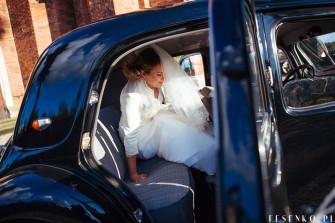 zabytkowy samochód do ślubu Kraków