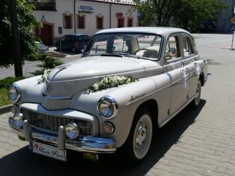 Samochód do Ślubu Zabytkowa Warszawa 224 POLECAM! Radom