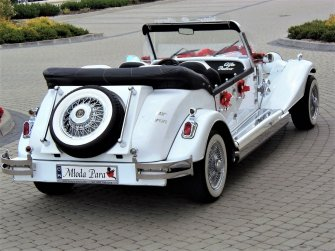 Kabriolet Alfa Romeo Spider / Nestor Baron Biała Podlaska