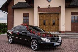Mercedes Klasy S do Ślubu - Wynajem Samochodu na Wesela Bielsko-Biała