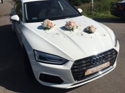 Piękna biała audi a5 do ślubu rocznik 2017 Kraków