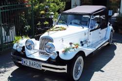 Kabriolet NESTOR BARON Replika Alfa Romeo do ślubu Chrysler 300C Biała Podlaska