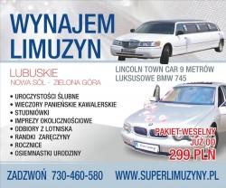 super-limuzyny Nowa Sól
