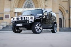 HUMMER H2, CHRYSLER 300c, LINCOLN TOWN CAR, CADILLAC deVILLE do ślubu. Aleksandrów Łódzki