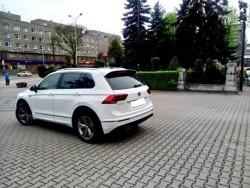 Nowy VW Tiguan R-line biały do ślubu i nie tylko. Łódź
