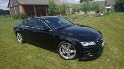 Piekne Audi A7 S Line Auto Do ślubu Lipsko