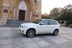 Białe BMW X5M - Ślub, Transfer VIP ŁÓDŹ