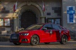 Auto do Slubu Audi S3. PROMOCJA DO KONCA LIPCA 350 ZL. Potok Gorny