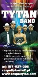 """Zespół wokalno-muzyczny ,,TYTAN"""" na każdą imprezę. Białystok"""