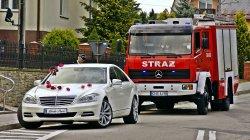 Perłowo Biały Mercedes AMG Nowy Sącz