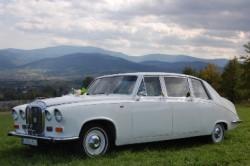 Daimler DS420 do ślubu - Żywiec  Bielsko Żywiec
