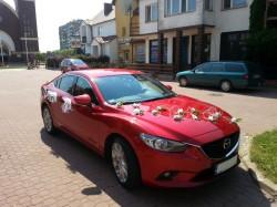 Samochód do ślubu Nowa Mazda 6  Wasilków