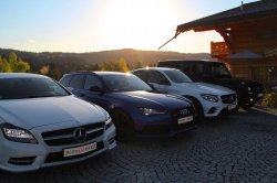 Audi RS 6, Mercedes GLC 220d Coupé Nowy Sącz