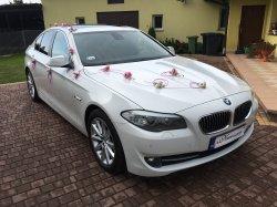 Auto Do Ślubu Białe BMW F10 Łódź