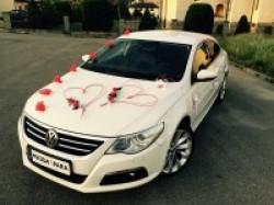 Auto do Ślubu Wynajem VW Passat CC R-line Chrzanów
