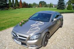 Auta do ślubu Mercedes-Benz CLS350 AMG i Nissan Titan  Żory
