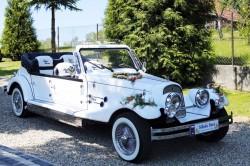 Kabriolet NESTOR BARON do wynajęcia na wesele ślub Łuków, Siedlce Łuków