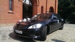 Luksusowy czarny  Mercedes S Wałbrzych