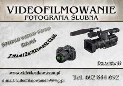"""Videofilmowanie-Fotografia """"RAMS"""" Kraków/Dojazdów"""