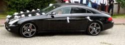 mercedes cls skóra beż samochód auto do ślubu wolne terminy Rzeszów