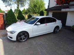 Auto do ślubu BMW F30 BIAŁY Łódź