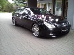 Auto do ślubu Mercedes CLS Częstochowa Śląsk Częstochowa