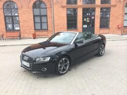 Audi A5 cabrio na wesele Łódź