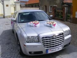 Auto do ślubu Chrysler 300C Gostyń