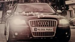 Audi S8 Piękna Limuzyna do Ślubu Warszawa