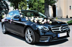 auto do ślubu Mercedes E Bydgoszcz