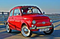 Retro FIAT 500  Busko-Zdrój