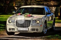 Just Married Chrysler 300c auto do ślubu wolne terminy 2017 !  Rzeszów