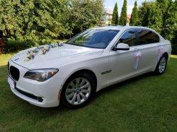 Auto do ślubu/wesela BMW 750L 407 KM Lubań