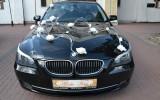 Czarne BMW 5 e60 LIFTING - zawioz� do �lubu Warszawa i okolice