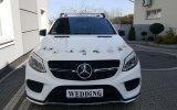 Mercedes AMG GLE COUPE biały  Rzeszów