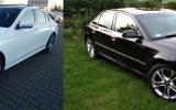 Auta do ślubu Samochód na ślub łódzkie AUDI A8- Mercedes E-Class AMG Łowicz