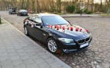BMW f10 do ślubu Turek