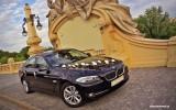 Czarne BMW 5 F10 Warszawa