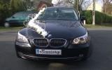 Per�owo czarne BMW serii 5 Legnica