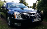 Czarny Cadillac DTS jedyny w �odzi ��d�