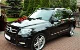 Mercedes glk do ślubu Wołomin
