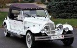 Luxusowe samochody do ślubu Zabytkowe auta kabriolet na wesele Warszawa