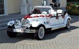 Luksusowy Kabriolet do ślubu Zabytkowy samochód na wesele RETRO auta Sokołów Podlaski