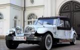 Kabriolet Nestor Baron do ślubu na wesele Auto zabytkowe RETRO Warszawa